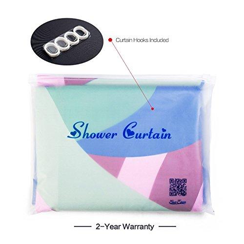 Good EnaEzen Animal Print Fabric Shower Curtains Mildew Resistant