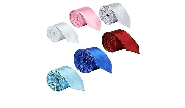 Profusion Circle Corbatas Lisas De Color Liso Ropa De Trabajo De ...