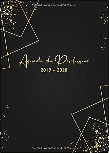 Agenda du Professeur 2019 2020: Carnet de ... - Amazon.com