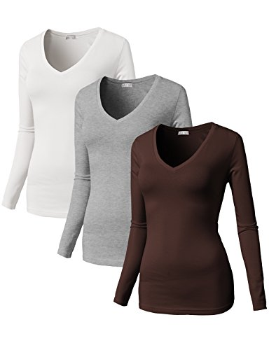 H2H Womens Sleeve Cotton T Shirt