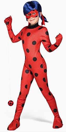 carino economico prodotto caldo selezionare per lo spazio Costume da Ladybug classic per bambina tuta mascherina ...