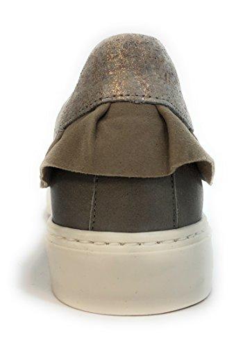 argento Sneakers efago Sole rimovibile sì 7411 Dorking donna moda qCxSwRn8O
