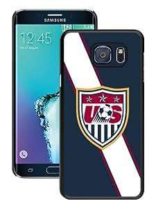 Hot Sale Samsung Galaxy S6 Edge+ Case,Usa Soccer 4 Black Samsung Galaxy S6 Edge Plus Screen Phone Case Unique and Fashion Design