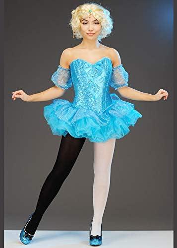Disfraz de Bailarina de Circo Azul Estilo Dumbo para Mujer Medium ...
