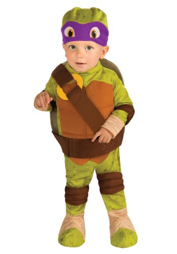 [Rubies Costume Co. Inc ' Toddler Tmnt Donatello Costume Size 4/6] (Ninja Turtle Costumes Boys)