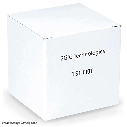 2gig TS1-EKIT Wireless Touch Screen Keypad XCVR2 (White) Color Touch Screen Keypad