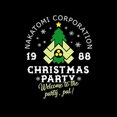 Black Men's Party Christmas Hard Die T Coto7 shirt Corp Nakatomi n6gPzxAq