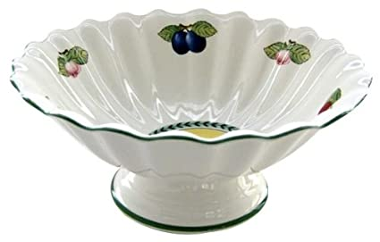 Villeroy U0026 Boch French Garden Fleurence 12 Inch Salad Bowl On Stand