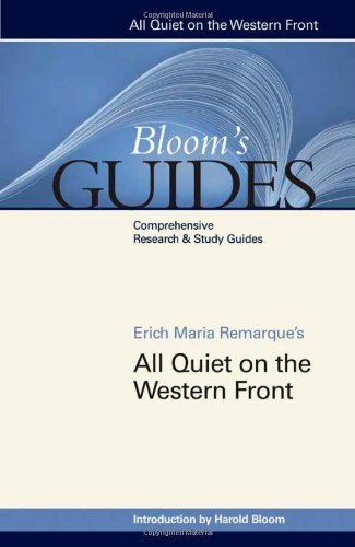 All Quiet on the Western Front (Bloom's Guides (Hardcover))