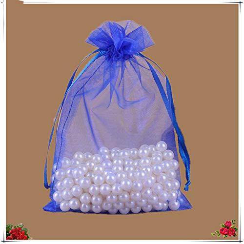 XLPD 25Pcs 20X30 25X35 30X40 35X50cm Organza Jewelry