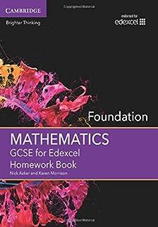 GCSE Mathematics for Edexcel Foundation Student Book (GCSE