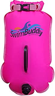Swim Buddy Touring Swim Float with Storage for Open Water Swimming, Triathletes, Superior Puncture Resistant M