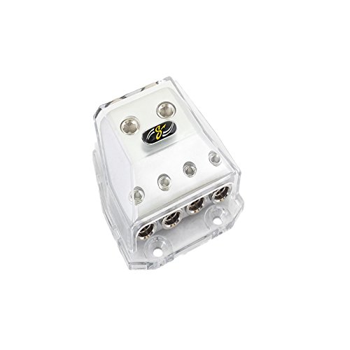 Stinger SHD21 HPM Series Power or Ground Distribution Block with Satin Chrome Finish