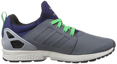 Adidas Originals ZX Flux NPS UPDT AF6355 grau blau grün (onix/onix/dark blue)
