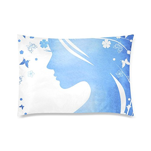 gunchu-custom-beautiful-girl-with-flowers-and-butterflies-decorative-throw-pillow-case-cushion-cover