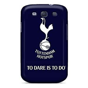 Rugged Skin Case Cover For Galaxy S3- Eco-friendly Packaging(tottenham Hotspur)