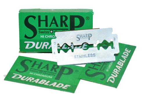 SHARP STAINLESS Double Safety Blades