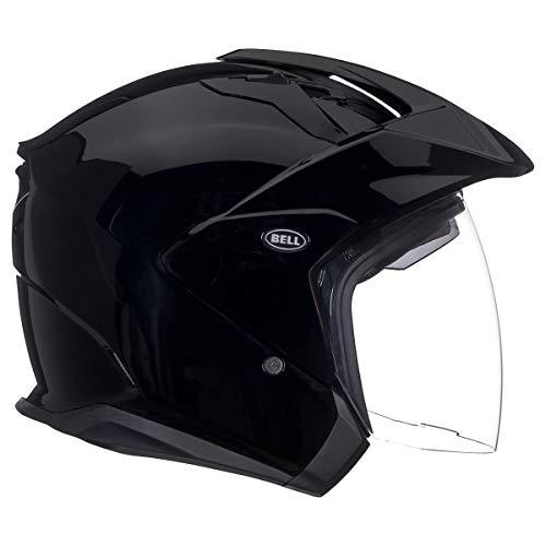 Bell Mag-9 Flip Up Motorcycle Helmet (Solid Black, X-Large) (D.O.T.- Certified)