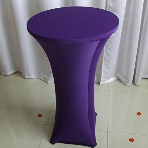 1pcs Cocktail Poseur Spandex Table Cover 60cm Party Elastic Cloth ()