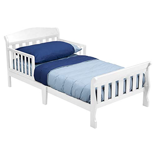 (Delta Children Canton Toddler Bed, White )