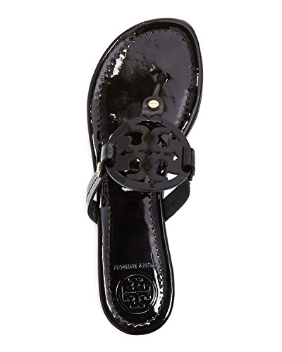 Pictures of Tory Burch Miller Patent Leather Sandal Black (9) 3