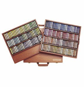 (Sennelier Soft Pastel Wood Box Set of 175 Full Sticks)