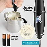 Zulay Original Milk Frother Handheld Foam Maker for