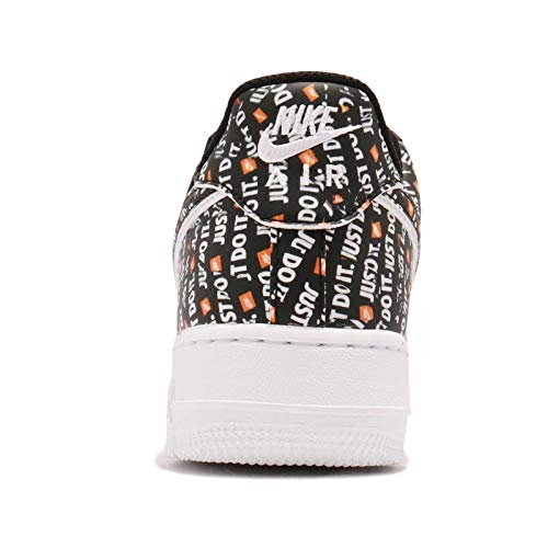 001 Air Lv8 Chaussures black '07 Force black white De Fitness Multicolore total Nike Orange Jdi 1 Homme Hwpaafx
