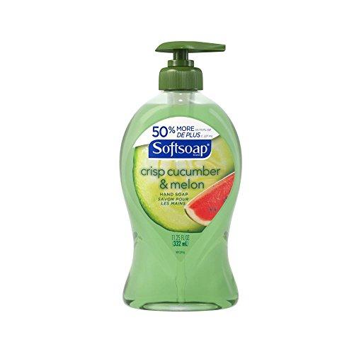 Softsoap Liquid Hand Soap Pump, Crisp Cucumber and Melon, 11.25 Ounce