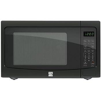 Amazon Com Kenmore 1 2 Cu Ft Countertop Microwave W Ez