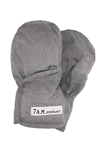 7 A.M. Enfant Classic 212 Mittens (Small, Heather Grey)