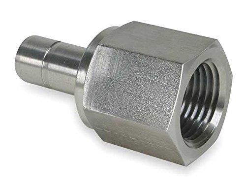 Parker 4FA4N-316 Tube End Female Adapter A-LOK 1//4T X 1//4NPT Stainless Steel