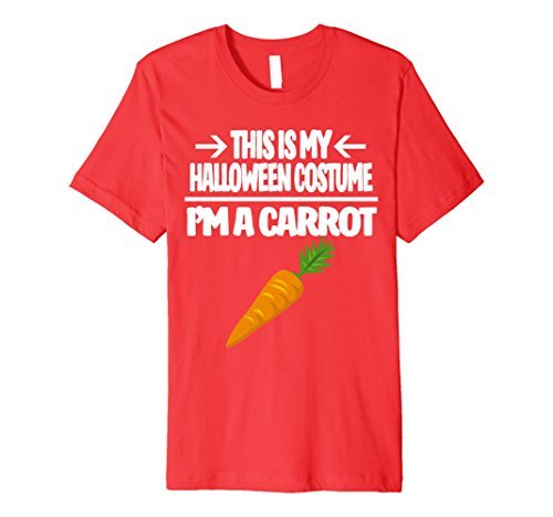 Carrot Halloween Costume Tshirt - Men Women Youth Sizes
