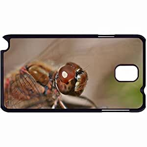 New Style Customized Back Cover Case For Samsung Galaxy Note 3 Hardshell Case, Back Cover Design Dragonfly Personalized Unique Case For Samsung Note 3