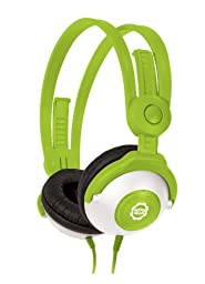 Kidz Gear Wired Headphones For Kids - Green