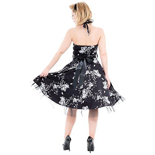 R H & London Floral tu peux longue dos-nu Tailles :  8–26 (XS - 6XL)