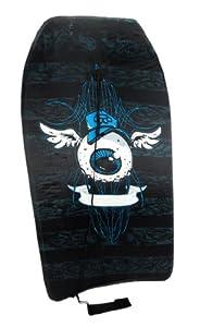 Cool Floating Eyeball with Wings Black Body Board 33 In. from Things2Die4