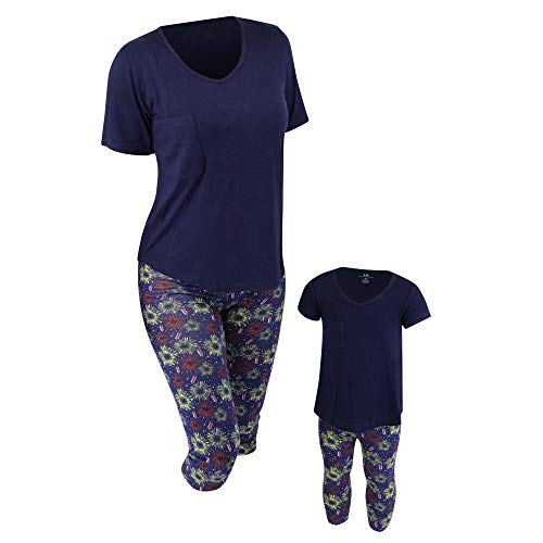 Unique Baby UB Womens Mommy and Me 4th of July Fireworks Outfit (Women L) Blue