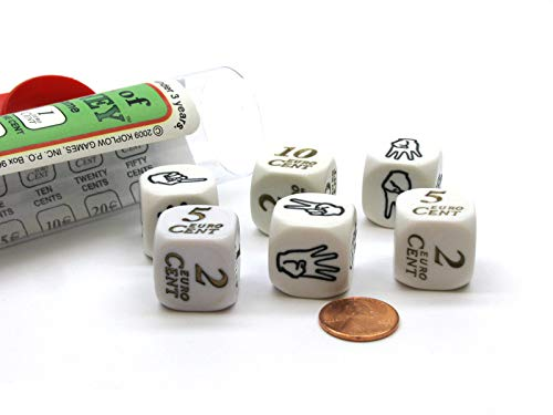 - Koplow Games The Sign of Money Dice Game - Combines Sign Language and Euro Currency