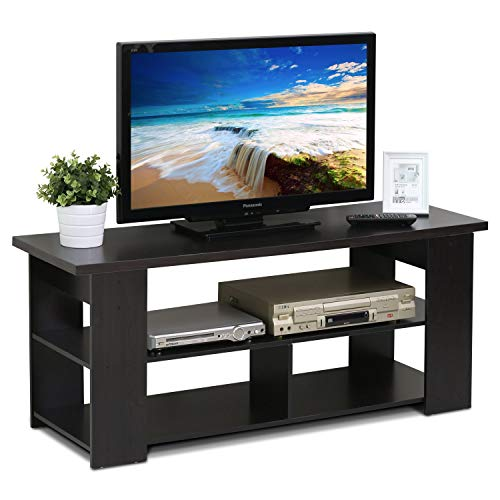 (Garden FL TV Stand Modern Stylish Chic Console Storage Media TV Cabinet Display Shelf Shelves Unit Living Room Furniture Organizer Entertainment Center)