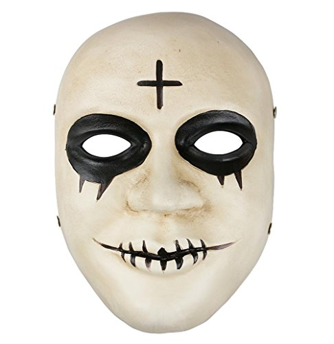 Gmasking 2017 The Purge Anarchy James Sandin Cross Mask 1:1 (Purge Mask Anarchy)
