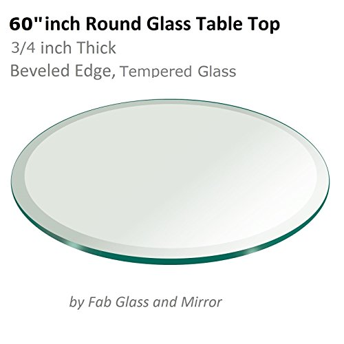 Glass Mirror Round (60