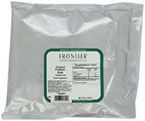Frontier Psyllium Husk Powder, 16 Ounce Bags (Pack of 2)