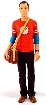 Big Bang Theory Sheldon in Flash shirt 3 3//4 figure Bif Bang Pow UK