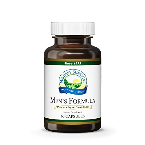 (Nature's Sunshine Men's Formula w/Lycopene, 60 Capsules | Herbal Formula Designed to Support and Protect The Prostate Gland Through Natural Supplements)