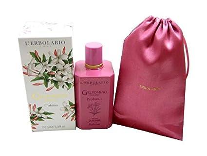 L erbolario 066.139 indio jazmín Perfume de edición limitada con bolsa de algodón
