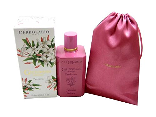 (Gelsomino Indiano (Indian Jasmine) by L' Erbolario Lodi – Acqua di Profumo - Perfume - 100 ml / 3.38 Fl. Oz.)