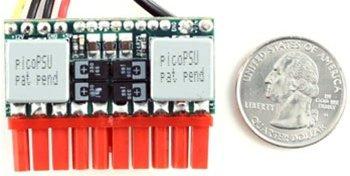 Mini-Box picoPSU-120-WI-25, World's tiniest 12-25V Input DC-DC ATX Power Supply Unit (PSU) (Dc Dc Atx Power Supply)
