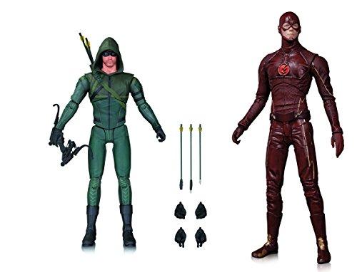 Super Hero Arrow TV: Arrow Season 3 Vs The Flash Action Figure