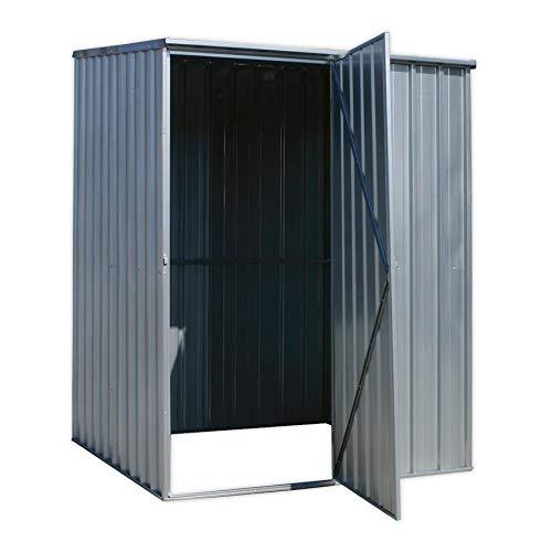 Sealey GSS1515 - Cobertizo (acero galvanizado, 1,5 x 1,5 x 1,9 m): Amazon.es: Coche y moto